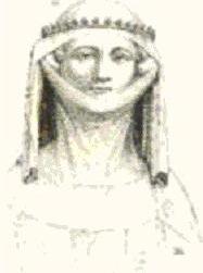 Femme portant une guimpe