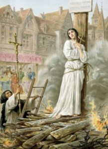 Jeanne sur le Bucher
