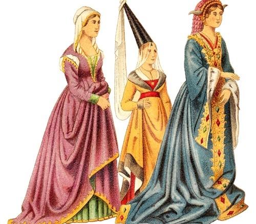 La mode au Moyen,Age