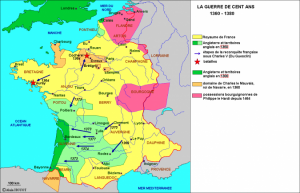 La Bavière était située en Bourgogne pendant la guerre e cent ans
