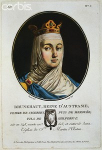 1791 --- Wife of Sigebert, she then married Merouee, son of Chilperic I. She lived 548-613 (Austrasie was a Merovingien kingdom, fl. 511-751 in NE of the Gaulish territories, capital Metz) --- Image by © Stapleton Collection/Corbis