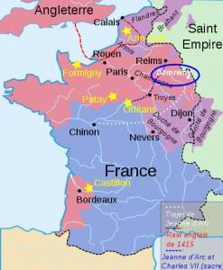 Domrémy, village de Jeanne d'Arc
