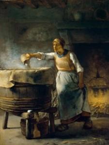 Une lavandière
