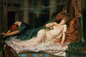 Mort de Cléopâtre