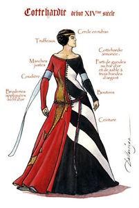 tenue début XIVe siècle