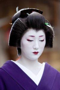 shimada. perruque de cérémonie