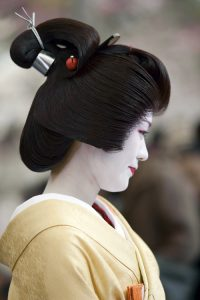 Tsubishi-shimada. Perruque la plus courante.